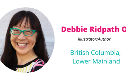 Virtual Book Week: Making Mistakes and Broken Crayon Art with Debbie Ridpath Ohi